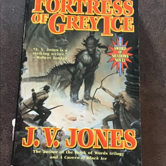 Fortress of Grey Ice by JV Jones